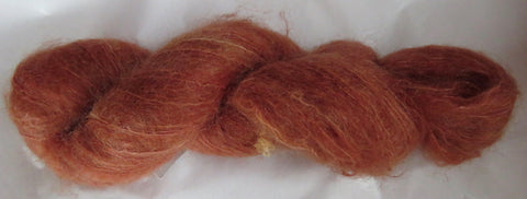 Brushed Kid Mohair - Tangelo O-1