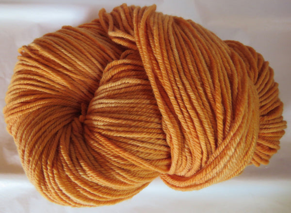 Targhee Wool - BULKY Weight - Soft Orange 2035