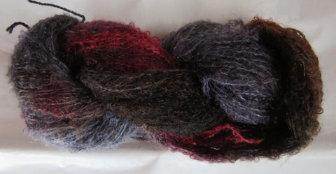 Mohair Loop - Medium Boucle - Red Fox Q