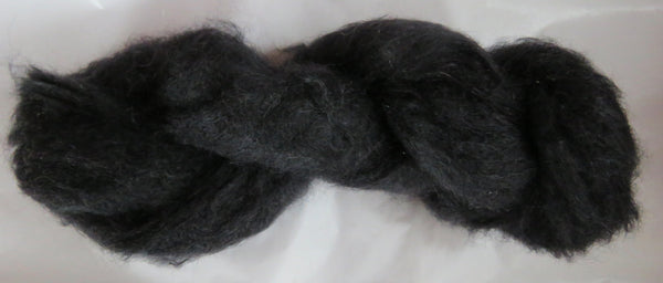 Brushed Kid Mohair - Black