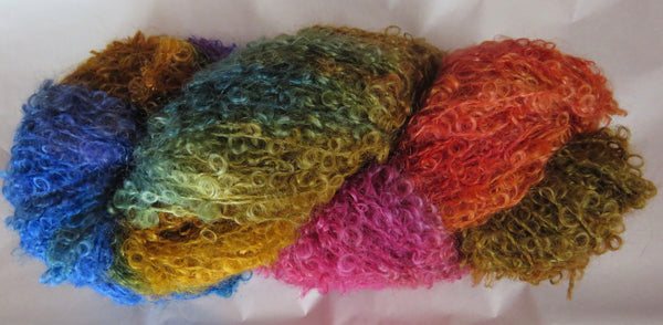 Fleece Artist - Curlylocks - Autumn Rainbow