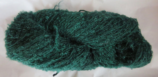 Mohair Loop - Medium Boucle - Green - Lot 14