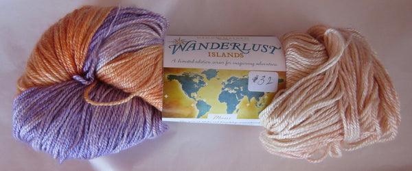 Hand Maiden Wanderlust Islands - Sea Silk Plush - Maui