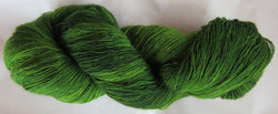 Fine  Merino - Lace Weight Yarn -  Leaf Green