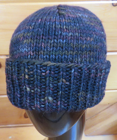 Hat - Fisherman/Woman - SW Merino - Bulky - Earth (Finished Product)