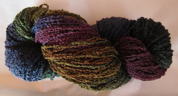 Hand Maiden Rumple - Swiss Mountain Silk - Boucle - Brew
