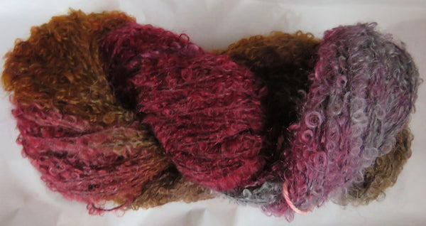 Mohair Loop - Medium Boucle - Red Fox
