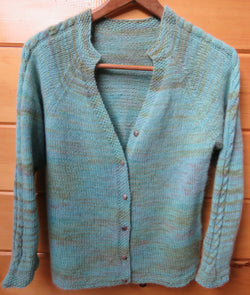 Pattern  510 - Light Summer Cardigan