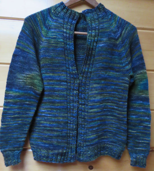 Pattern  512 - Cable Border Cardigan