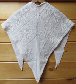 Pattern  513 - Tree of Life V Neck Shawlette - Fingering