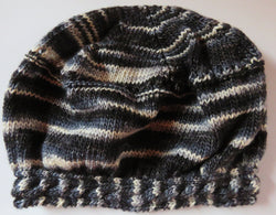 Pattern  351 - Cable Brim hat
