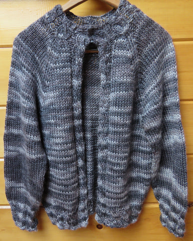 Pattern  672 - Cable Border Jacket