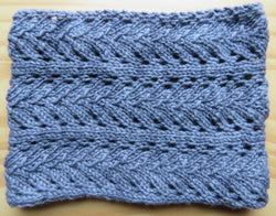 Cowl - Lace Cowl or Ear Warmer - Worsted - 501