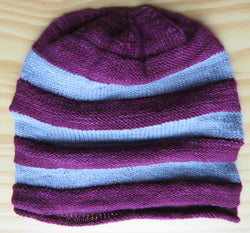Hat - Multiways/Slouchy Hat in Fingering Weight - 683