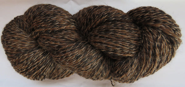 2 ply - Super Fine Alpaca - NATURAL - P - Light DK Weight