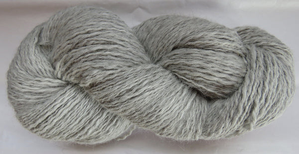 2 ply - Super Fine Alpaca - NATURAL - F - Light DK Weight