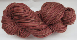 Fine Organic Merino - Sport Weight - Brick #1
