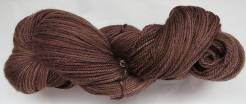 Fine Organic Merino - Sport Weight -  Chocolate #1