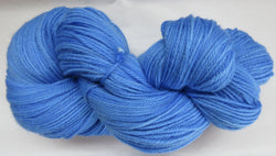 Fine Organic Merino - Sport Weight -  Blue #5