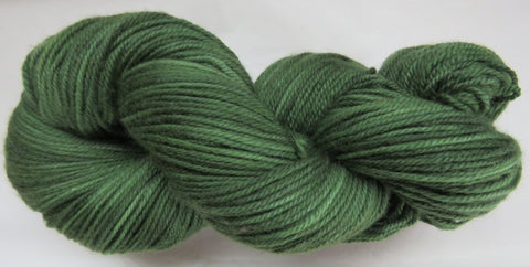 Fine Organic Merino - Sport Weight -  Green #1