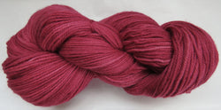 Fine Organic Merino - Sport Weight -  Crimson #1