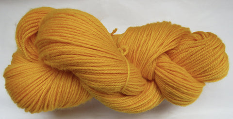 Fine Organic Merino - Sport Weight - Yellow #2