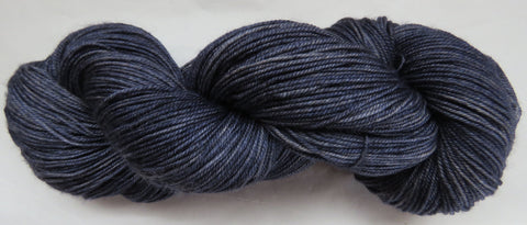Yak/Silk/Merino - Fingering Weight - Blue #16-3