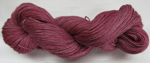 Yak/Silk/Merino - Fingering Weight - Vermillion #16-2