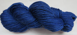 Yak/Silk/Merino - Fingering Weight - Electric Blue #1