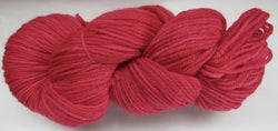 Fine Organic Merino - Worsted Weight  -  Red 1-LL