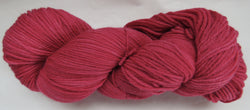 Fine Organic Merino - Worsted Weight  -  Red 1-H