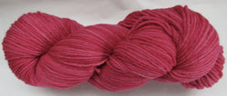 Fine Organic Merino - Worsted Weight  -  Red 1-I