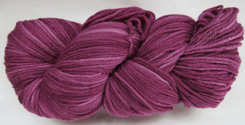 Fine Organic Merino - Worsted Weight  -  Wine #1-X