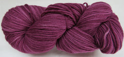 Fine Organic Merino - Worsted Weight  -  Wine #1-T