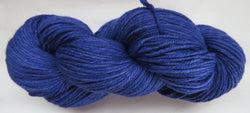Fine Organic Merino - Worsted Weight  -  Blue #1-N