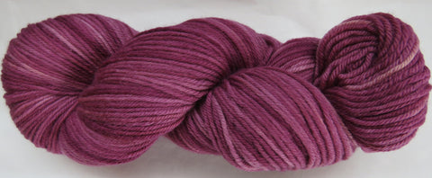 Fine Organic Merino - Worsted Weight  -  Wine #1-K