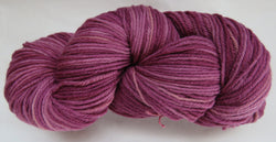 Fine Organic Merino - Worsted Weight  -  Wine #1-J