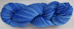 Fine Organic Merino - Worsted Weight  -  Blue #0-B
