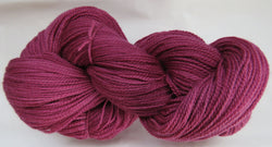 Fine Organic Merino - Fingering Weight -  Wine #1-Z