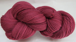 Fine Organic Merino - Fingering Weight -  Red #R-4