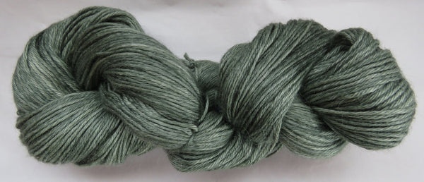 4 ply - Baby Alpaca & Tussah Silk - Sage #16-5 - Light DK Weight