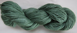4 ply - Baby Alpaca & Tussah Silk - Green #0-2 - Light DK Weight