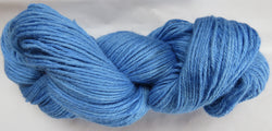 4 ply - Baby Alpaca & Tussah Silk - Blue #16-9 - Light DK Weight