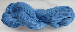 4 ply - Baby Alpaca & Tussah Silk - Blue #16-10 - Light DK Weight