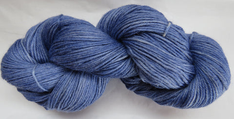 4 ply - Baby Alpaca & Tussah Silk - Lilac #0-4 - Light DK Weight