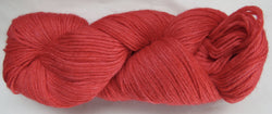 4 ply - Baby Alpaca & Tussah Silk - Red #0-5