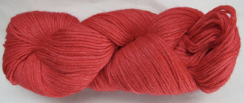 4 ply - Baby Alpaca & Tussah Silk - Red #0-5 - Light DK Weight