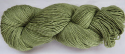 4 ply - Baby Alpaca & Tussah Silk - Moss #0-6 - Light DK Weight