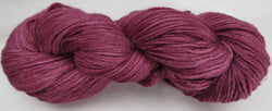 4 ply - Baby Alpaca & Tussah Silk - Wine #0-7 - Light DK Weight