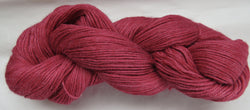 4 ply - Baby Alpaca & Tussah Silk - Red #R-1